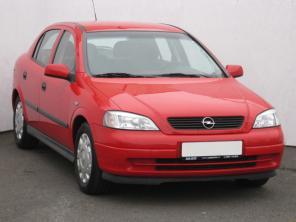 Opel Astra 2000 Hatchback červená 5