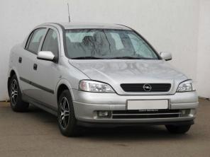 Opel Astra 2001 Sedan modrá 8