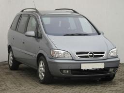 Opel Zafira 2000 MPVs blue 10