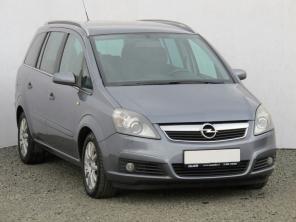 Opel Zafira 2007 Samochody Rodzinne srebrny 9