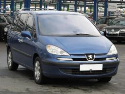 Peugeot 807 2003 MPVs blue 4
