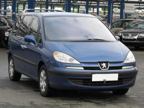 Peugeot 807 2008 Samochody Rodzinne srebrny 2