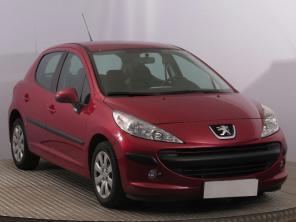 Peugeot 207 2007 Hatchback červená 9