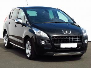 Peugeot 3008 2011 Samochody Rodzinne czarny 6