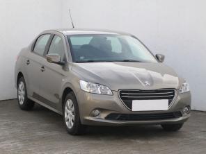 Peugeot 301 2013 Sedan beżowy 9