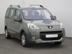 Peugeot Partner 2009 Pickup zelená 1