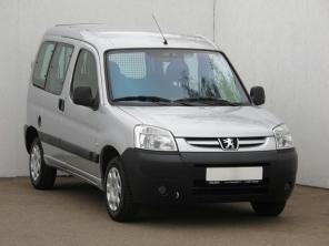 Peugeot Partner 2007 Pickup grey 4
