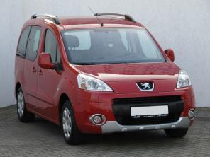 Peugeot Partner 2009 Pickup červená 4