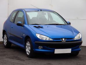Peugeot 206 2004 Hatchback niebieski 3