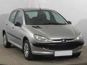 Peugeot 206 2002 Hatchback šedá 3
