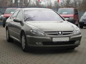 Peugeot 607 2001 Sedan hnedá 7