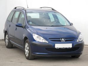 Peugeot 307 2005 Combi modrá 9