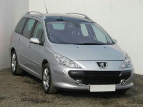 Peugeot 307 2007 Combi strieborná 9