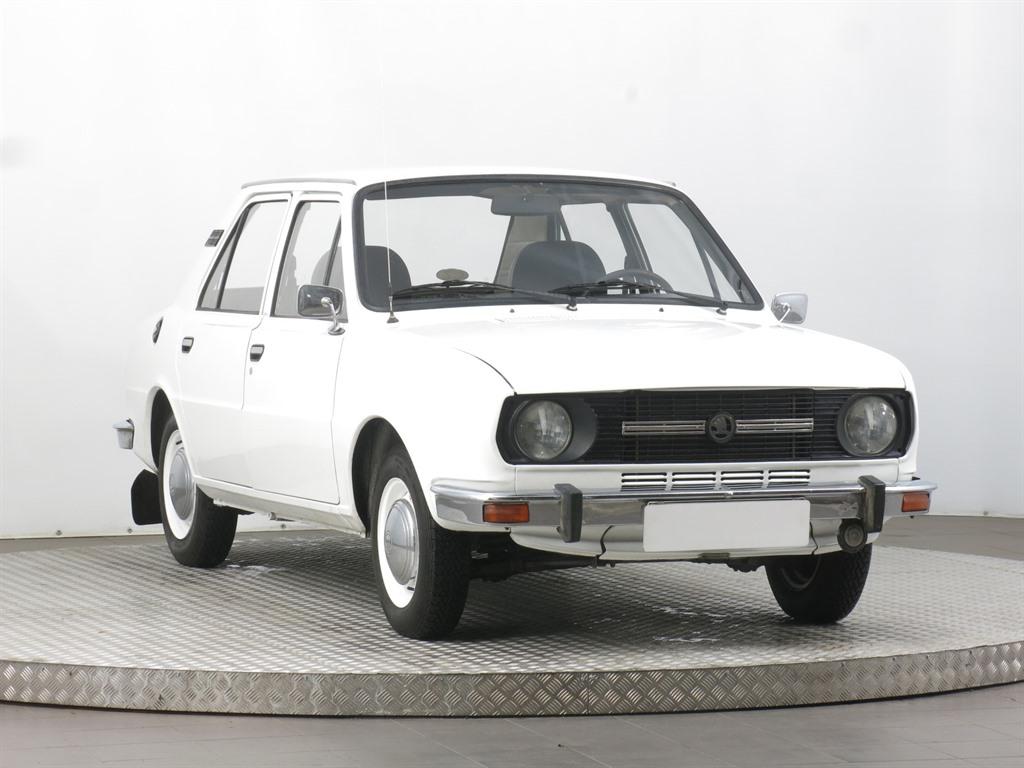 Škoda 105, 1981