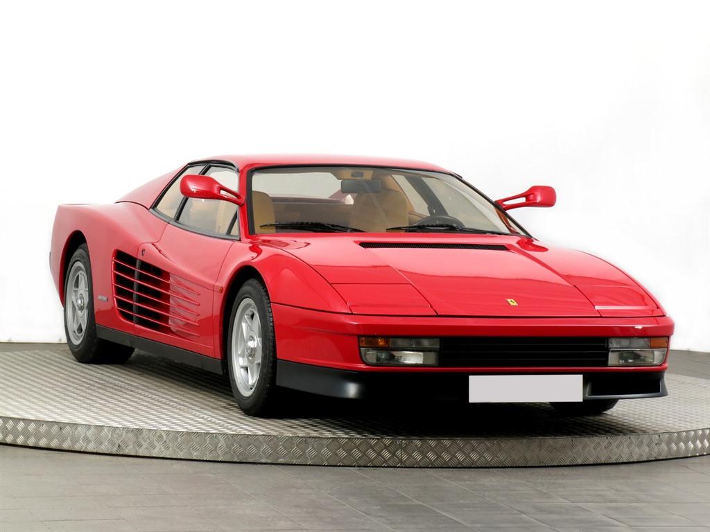 Ferrari Testarossa, 1986