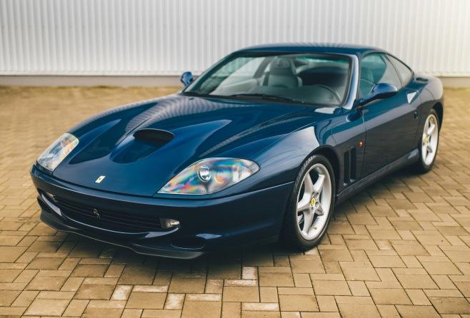 Ferrari 550 Maranello  (1998, 5.5 V12)