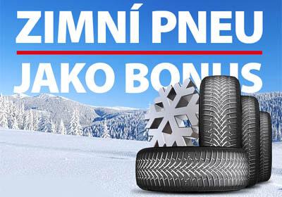 Bonus k auto zimní pneu