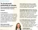 """Ekonom: Karolína Topolová: """"To, že mě muži podceňují, je výhoda"""""""