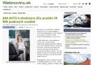 Webnoviny.sk: AAA AUTO k dnešnému dňu predalo 50 000 jazdených vozidiel