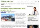 Webnoviny.sk: Novembrové predaje skupiny AAA AUTO narástli o 18,1 %