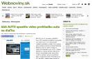 Webnoviny.sk: AAA AUTO spustilo video prehliadku auta na diaľku