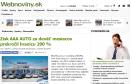 Webnoviny.sk: Zisk AAA AUTO za deväť mesiacov prekročil hranicu 200 %