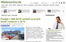Webnoviny.sk: Predaje v AAA AUTO vzrástli za prvých deväť mesiacov o 15 %