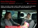 Karolína Topolová v pořadu Auto Moto Revue