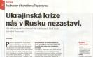 Ekonom: Ukrajinská krize nás v Rusku nezastaví