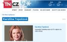 On-line rozhovor s Karolínou Topolovou na TN.cz