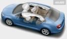 Počet ojetin s automatickým denním svícením se  zdvojnásobil, minimálně 1 airbag je standard