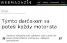 Webmagazin.teraz.sk: Týmto darčekom sa poteší každý motorista