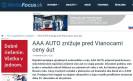 MotoFocus.sk: AAA AUTO znižuje pred Vianocami ceny áut