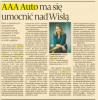Puls Biznesu: AAA Auto ma się umocnić nad Wisłą