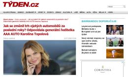 Týden.cz: Jak se změnil trh ojetých automobilů za poslední roky? Odpovídala generální ředitelka AAA AUTO