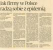 Puls Biznesu: Jak firmy w Polsce radzą sobie z epidemią